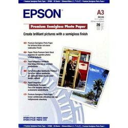 Epson Premium Semigloss Paper A3 C13S041334 Fotopapier DIN A3 251 g/m² 20 Blatt Seidenglänzend