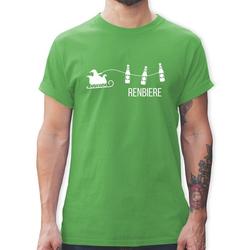 Shirtracer T-Shirt Renbiere - Typisch Männer - Herren Premium T-Shirt - T-Shirts john bier t-shirt M