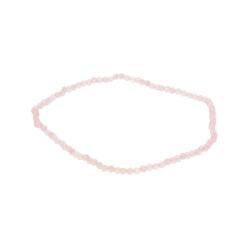 Adelia´s Armband Rosenquarz Armband rosa, Rosenquarz rosa 19 cm