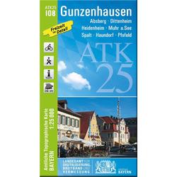 Gunzenhausen 1 : 25 000