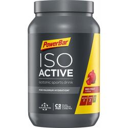 PowerBar IsoActive Sportgetränk, 1320 g Dose (Geschmack: Red Fruits)