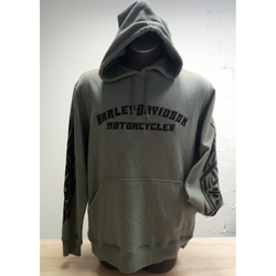 HD Sweat-Shirt Tatoo Flame S