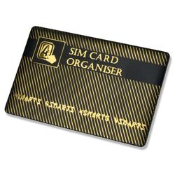 4smarts Zubehör SIM Karten Organizer schwarz