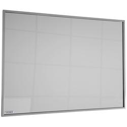 Infrarotheizung Zipris S 700, 700 W, Spiegelheizung mit Titan-Rahmen grau