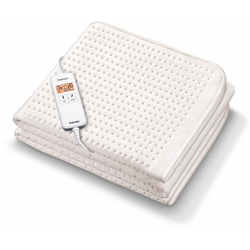 BEURER Wärmeunterbett UB 200 CosyNight, separat einstellbare Temperaturzonen für Körper und Füße, appfähig