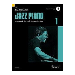 Jazz Piano. Tim Richards  - Buch