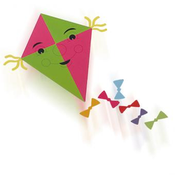 Transparentpapier / Drachenpapier - rot