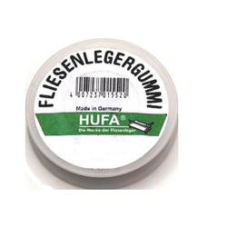 Hufa Fliesenleger Gummi Ø 1mm x 20m weiß