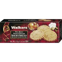 Walkers Pure Butter Stem Ginger Shortbread Buttergebäck 175g