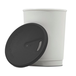 achilles Mehrwegbecher Barista 365 Mehrwegbecher Coffee-to-Go-Becher 4er Set Kaffee-Becher, Polycarbonat schwarz