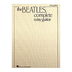 The Beatles Complete (Easy Guitar). The Beatles  - Buch