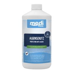 mediPOOL Algenschutz, Zur Verhinderung von Algenwachstum, 1000 ml - Flasche