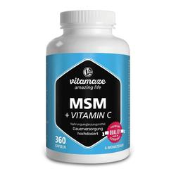 MSM HOCHDOSIERT+Vitamin C