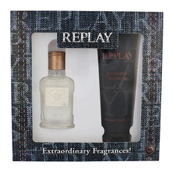 Replay Jeans Original! For Him Set EDT 30 ml + Duschgel 100 ml für Männer