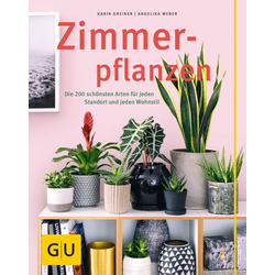 Zimmerpflanzen als Buch von Karin Greiner/ Angelika Weber