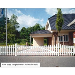 Bausatz Gartenzaun Tür Unterbogen braun 1 Flügel