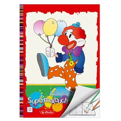 herlitz Clown Malbuch