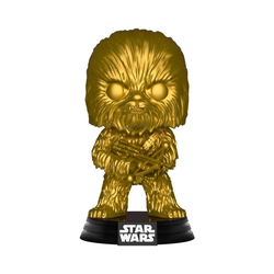 Funko Actionfigur Funko Pop! - Star Wars - Chewbacca (goldene Special Edition) #63