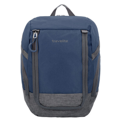 Travelite Basics Rucksack 36 cm marine grau