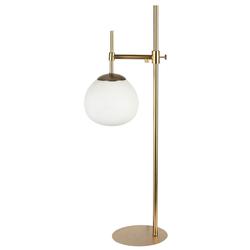 Casa Padrino Tischleuchte Gold 17 x H. 65 cm - Wohnzimmer Tischlampe