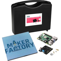 MAKERFACTORY Matrix Kit Raspberry Pi® 4 B 4GB 4 x 1.5GHz inkl. Aufbewahrungskoffer, inkl. Controlle