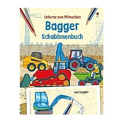 Bagger Schablonenbuch. Louie Stowell  Andy Tudor  - Buch