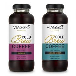 "Kalt gebrühter Kaffee Viaggio Espresso ""Cold Brew Burundi + Mexico Decaffeinato"", 592 ml"