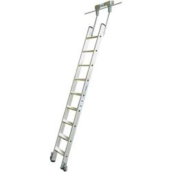 STABILO StufenregalLeiter Alu 8 Stufen