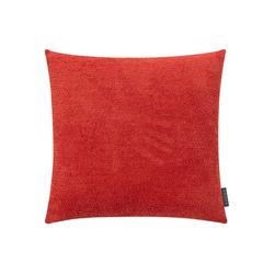 Kissenbezug Der Flauschige, mokebo, 40x40 oder 50x50cm, auch als weiche Kissenhülle rot 50 cm x 50 cm