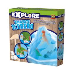 SES Creative Lernspielzeug Ausklopfset Eisberg