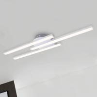 Briloner LED Deckenleuchte 3187-039 Wohnraumlampe Aluminiumm 3x 6 Watt