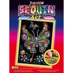 Junior Sequin Art Schmetterling 1209