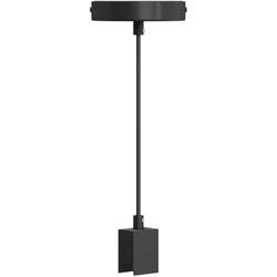 SEGULA Pendelleuchte Pendelleuchte S14d, Pendelleuchte S14d, minimalistisches Pendel S14d, Deckenlampe S14d Fassung, Linienlampen Fassung hängend, Design Fassung S14d, schwarze Deckenleuchte
