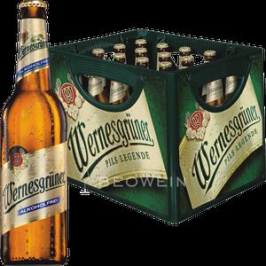 Wernesgrüner Alkoholfrei 20x0,5 l