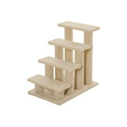 PawHut Kratzbaum Katzentreppe mit 4 Stufen braun