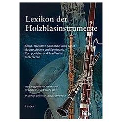 Instrumenten-Lexika: .6 Lexikon der Holzblasinstrumente - Buch