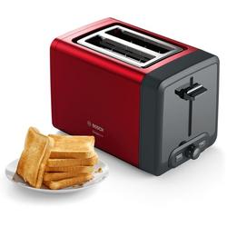 Toaster »TAT4P424 DesignLine«, 970 Watt, Toaster, 19528124-0 rot rot