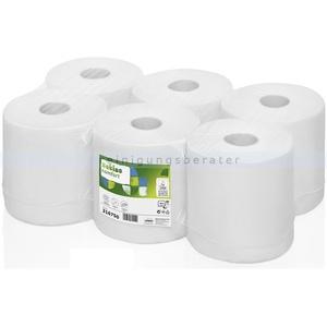 Handtuchrollen Wepa Satino Comfort weiß 20 cm x 138 m 6 Rollen/Paket, Innenabwicklung, 2-lagig, verleimt
