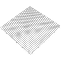 Fliesen für feuchte umgebungen, 6 stk., 400x400 mm, weiß