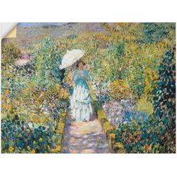Artland Wandbild Der Gartenweg., Garten (1 Stück) 120 cm x 90 cm