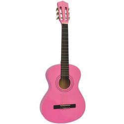 Voggenreiter Kindergitarre Kindergitarre 1/8, pink 1/8