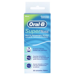 ORAL B Zahnseide Superfloss 1 St