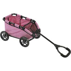 Puppen-Bollerwagen Skipper, Jeans pink