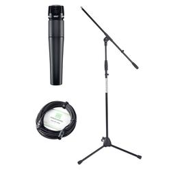 Shure SM 57-LCE Mikrofon Stativ Set