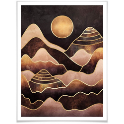 Wall-Art Poster Sonnenuntergang, Sonnenuntergang (1 Stück) 30 cm x 40 cm x 0,1 cm