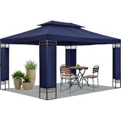Gartenzelt Capri 3 x 4 m in blau – Outdoor Pavillon wasserabweisend   Artlife