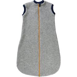 Baby Schlafsäcke aus Wollfleece hellgrau Gr. 86/92