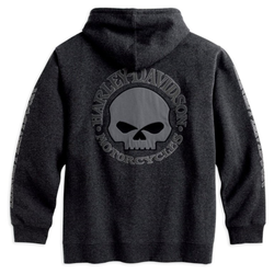 HD Zip Hoodie Skull S