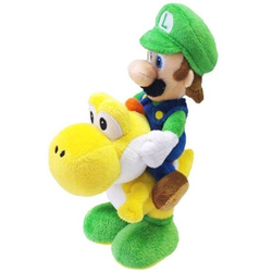 Nintendo Luigi & Yoshi Plüschfigur 22cm