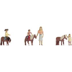 NOCH 15635 H0 Figuren Ponyreiten
